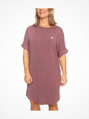 Missya Softness Modal Big Shirt Ancientpink