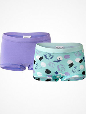 Pierre Robert 2-pack Kids Boxer For Girls Lilac/Turquois