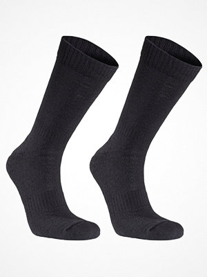 Strumpor - Seger 2-pack Basic Wool Sock Black