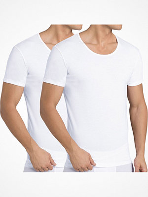Pyjamas & myskläder - Sloggi 2-pack Men 24 7 T-Shirt White