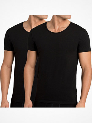 Pyjamas & myskläder - Sloggi 2-pack Men 24 7 T-Shirt Black