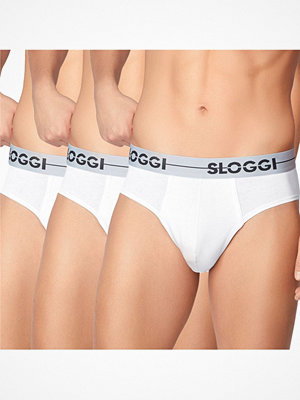 Kalsonger - Sloggi 3-pack Men GO Mini White