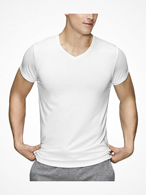JBS of Denmark Bamboo Blend V-neck T-shirt White