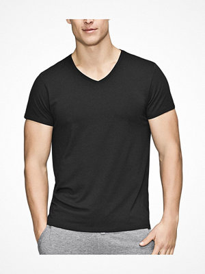 Pyjamas & myskläder - JBS of Denmark Bamboo Blend V-neck T-shirt Black