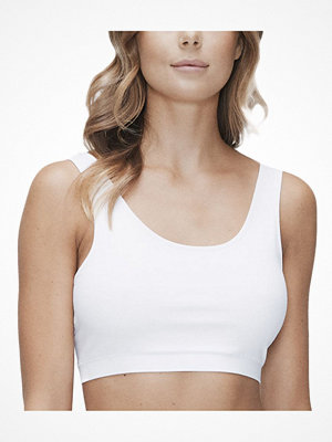 JBS of Denmark Organic Cotton Bra Top Wide Straps White