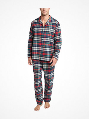 Pyjamas & myskläder - Jockey USA Originals Flannel Pyjama Red/Blue