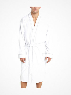 Morgonrockar - Jockey Bath Robe Fashion Terry 3XL-6XL White
