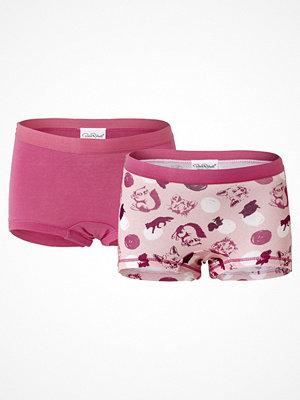 Pierre Robert 2-pack Kids Boxer For Girls Pink Pattern