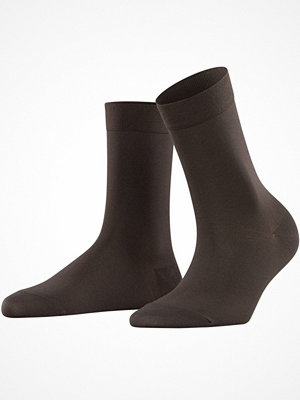 Falke Women Cotton Touch Darkbrown