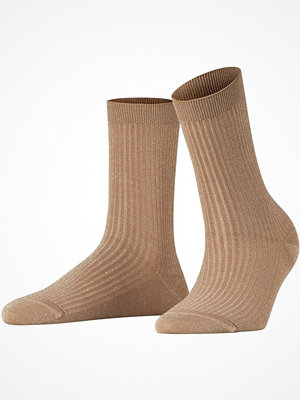 Falke Women Seasonal Shiny Rib Sock Gold