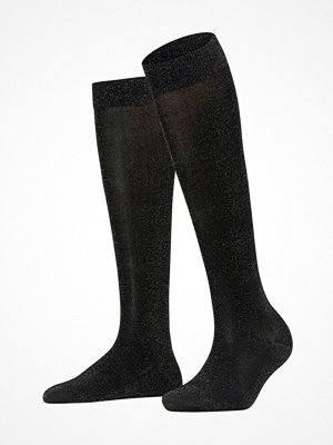 Falke Women Seasonal Shiny Knee High Black