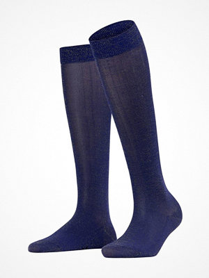 Falke Women Seasonal Shiny Knee High Navy-2