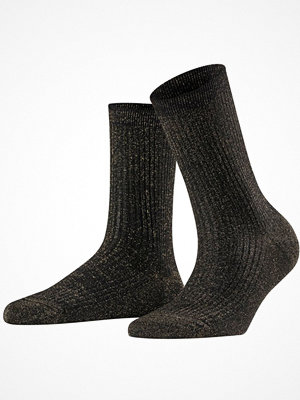 Falke Women Seasonal Shiny Rib Sock Black