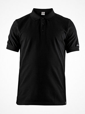 T-shirts - Craft Casual Polo Pique Shirt Men Black