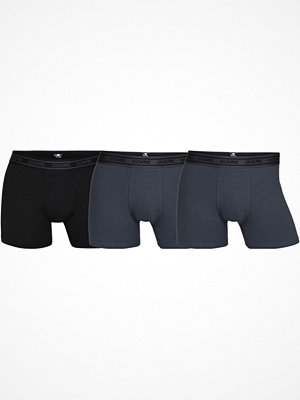 Kalsonger - Dovre 3-pack Bamboo Boxer Tights Black/Grey