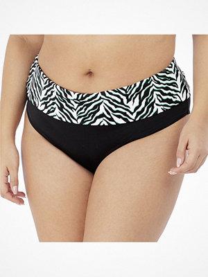 Bikini - Elomi Zulu Rhythm Fold Bikini Brief Black/White