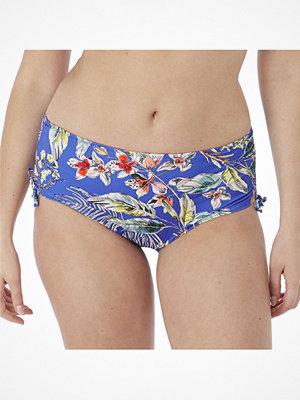 Bikini - Fantasie Burano Adjustable Leg Bikini Short Blue Pattern