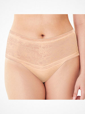 Maidenform Everyday Smooth Lace Thong Beige