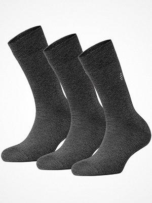 Panos Emporio 3-pack Daniel Bamboo Sock Anthracite