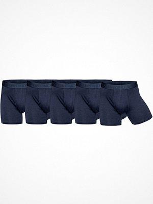 Kalsonger - Panos Emporio 5-pack Bamboo Cotton Boxers Navy-2