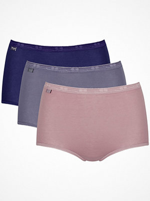 Sloggi 3-pack Basic Plus Maxi Colored Pink/Lilac