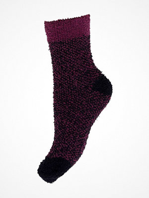 Decoy Cosy Soft Bed Sock Black pattern-2