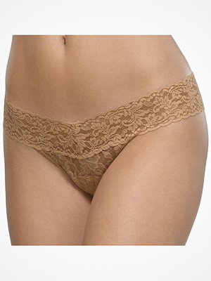 Hanky Panky 3-pack Low Rise Thong Brown