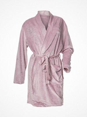 Calvin Klein Quilted Robe Pink