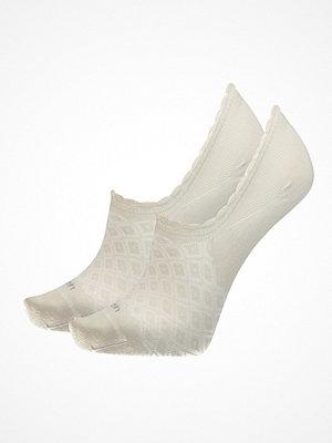 Calvin Klein 2-pack Libby Diamond No Show Sock Beige