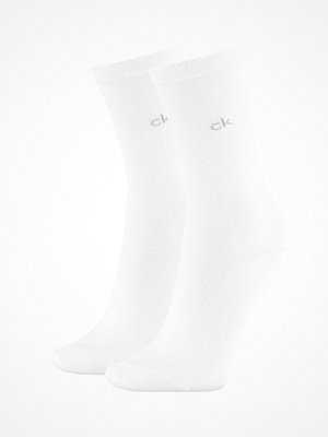 Calvin Klein 2-pack Annika Flat Knit Sock White