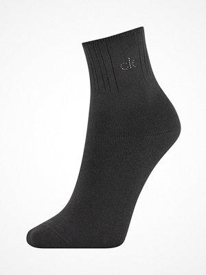Calvin Klein Allison Anklet Crystal Logo Sock Black