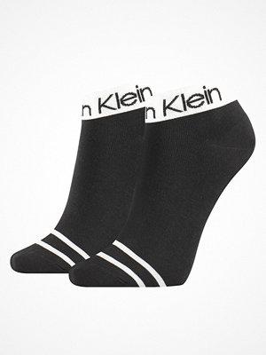 Calvin Klein 2-pack Zoey Logo Short Sock  Black