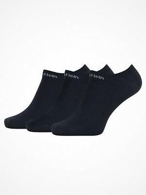 Strumpor - Calvin Klein 3-pack Owen Coolmax Cotton Liner Socks Navy-2