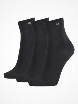 Calvin Klein 3-pack Juno Short Crew Sock Black