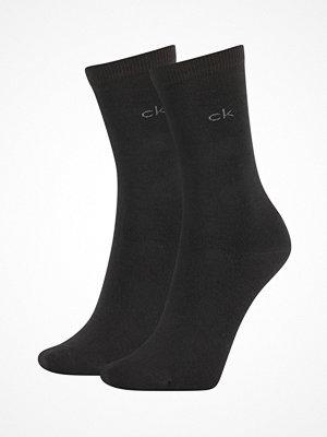Calvin Klein 2-pack Annika Flat Knit Sock Black