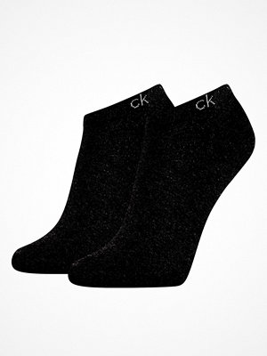 Calvin Klein 2-pack Payal Flat Knit Sneaker Sock Black