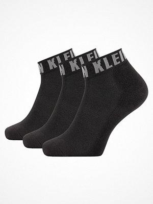 Calvin Klein 3-pack Drake Quarter Logo Cuff Sock Black