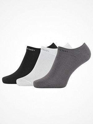 Calvin Klein 3-pack Owen Coolmax Cotton Liner Socks White/Grey