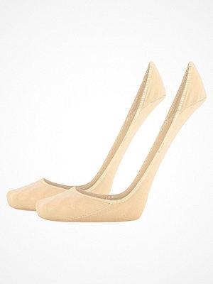 Calvin Klein 2-pack Ella No Show Sock Beige