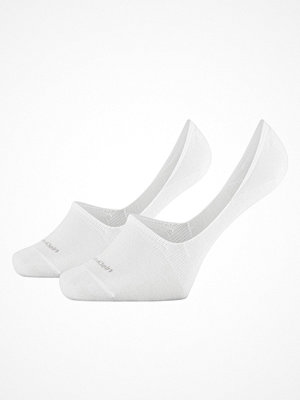 Calvin Klein 2-pack Lucca No Show Sock White