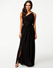 Klänningar - Ax Paris One Shoulder Split Maxi Dress