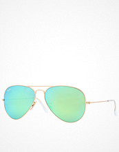 Solglasögon - Ray-Ban RB 3025 Aviator Matte gold/Green Mirror