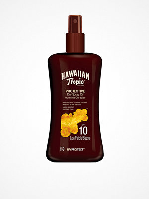 Solning - Hawaiian Tropic Protective Dry Spray Oil SPF 10 200 ml Transparent