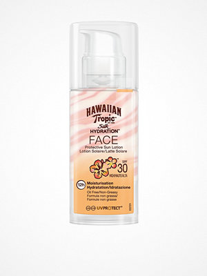 Solning - Hawaiian Tropic Silk Hydration Air Soft Face Sun Lotion SPF 30 50 ml