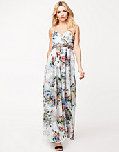 Klänningar - Little Mistress Floral Maxi Dress