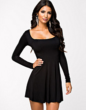 Club L Essentials Long Sleeve Jersey Dress