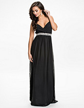 Klänningar - Nly Eve Embellishment Maxi Dress