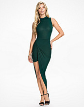 Klänningar - Club L High Neck Side Rouched Dress