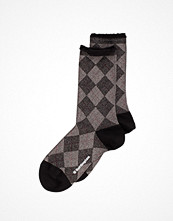 Strumpor - Burlington Lurex Argyle Sock