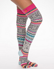 Strumpor - Odd Molly Jacquard Long Sock